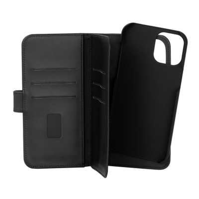 GEAR 2‑i‑1 Fodral med Magnetskal, 7 Kortfack, iPhone 12 Pro Max