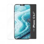 GEAR Skärmskydd i härdat glas incl. ram, iPhone 12/12 Pro, 2.5D