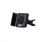 Gear mobilhållare för fläktgaller, svart