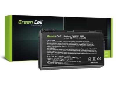 Green Cell Batteri för Acer Extensa 5610G 5620G, 11.1V, 4400mAh