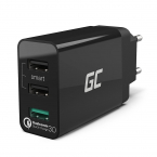 Green Cell Laddningskontakt, 3xUSB, Quick Charge 3.0