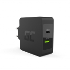 Green Cell Laddningskontakt med PD och Quick Charge 3.0, 30W