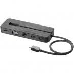 HP USB-C mini dockningsstation, grå