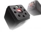 HD Infraröd spionkamera med mörkerseende, 750mAh