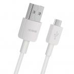 Huawei USB-kabel 2A. USB-A till micro-USB, vit