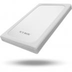 """ICY BOX, externt kabinett för 1x2,5"""" hårddisk, USB 3.0, silver/vit"""