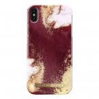 iDeal Fashion Case skal till iPhone XS Max, Golden Burgundy