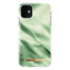 iDeal Fashion Case iPhone 11/XR, Pistachio Satin
