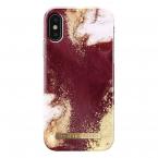 iDeal Fashion Case, iPhone X/XS, Golden Burgundy