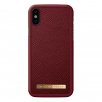iDeal Fashion Case magnetskal till iPhone X/XS, Burgundy