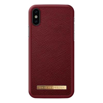 iDeal Fashion Case magnetskal till iPhone X/XS, Burgundy