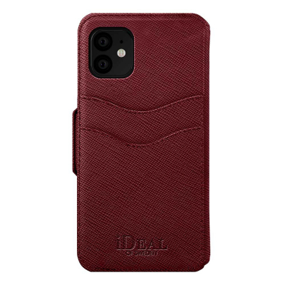 iDeal Fashion Wallet, iPhone 11, Burgundy