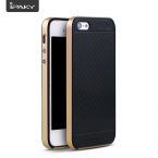 IPAKY Hybrid TPU skal till iPhone 5/5S, guld