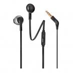 JBL T205 headset 3.5mm, svart