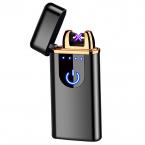 Kompakt Elektrisk tändare med fingeravtryck sensor, micro-usb