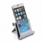 Justerbart ställ för smartphones/surfplattor, silver