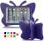 Fjärilsformat barnfodral till iPad 10.2/Pro 10.5/Air 3, lila