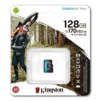Kingston 128GB microSDXC Canvas Go Plus 170R A2 U3 V30