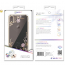 Kingxbar transparent skal med motiv, iPhone XS Max, svart