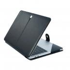 """Läderfodral för MacBook Pro 15.4"""" Retina (A1398), svart"""