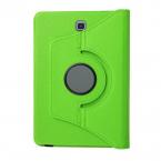 Läderfodral med ställ till Samsung Galaxy Tab S2 8.0, grön