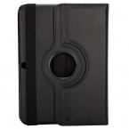 Läderfodral med ställ till Samsung Galaxy Tab 4 10.1, svart