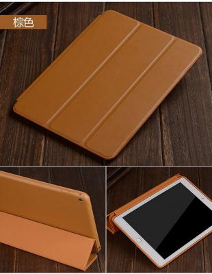 Läderfodral med ställ, iPad Pro 12.9 (2018), brun
