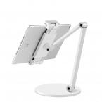 Stabilt ställ för mobiler och surfplattor, vit
