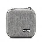 Liten multifunktionell väska i slitstarkt tyg, grå