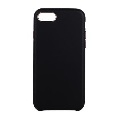 Luxury Slim läderskal till iPhone 7/8, svart