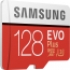 Samsung EVO Plus microSDXC 100MB/s med SD-adapter, 128GB 3