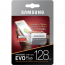Samsung EVO Plus microSDXC 100MB/s med SD-adapter, 128GB 4