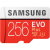 Samsung EVO Plus microSDXC 100MB/s med SD-adapter, 256GB