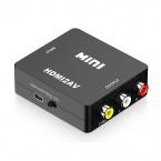HDMI till AV Konverter, 1080P, svart