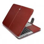 Läderfodral för MacBook Pro 13 Retina, brun