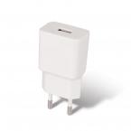 Maxlife MXTC-01 Laddare med USB-C-kabel, Fast Charge, 2.1A, vit