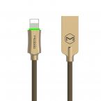 McDodo CA-3903 Lightning-kabel Auto Disconnect, LED, 1.8m, brun
