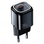 McDodo CH-8291 USB-C Väggladdare, snabbladdning, EU, 20W, svart
