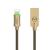 McDodo CA-390 Lightning-kabel Auto Disconnect, LED, 1.2m, guld