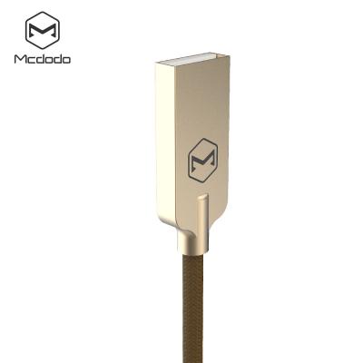 McDodo CA‑3903 Lightning‑kabel Auto Disconnect, LED, 1.8m, brun