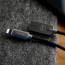 McDodo CA‑3904 Lightning‑kabel Auto Disconnect, LED, 1.8m, svart