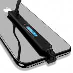 McDodo CA-4890 Gamingkabel, Lightning, 2.4A, 1.2m, svart