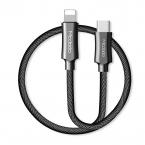 Mcdodo CA-499 USB-C till Lightning-kabel, 1.2m, silver/svart