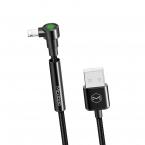 Mcdodo CA-6670 vinklad 8pin kabel, 1.8m, svart