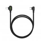 McDodo CA-7371 90° USB-C till Lightning, PD, 3A, 1.8m, svart