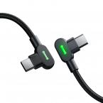 McDodo CA-8081 USB-C till USB-C kabel, 60W, 3A, 2m