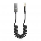McDodo CA-870 Bluetoothmottagare, USB till 3.5mm, svart