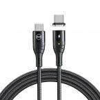 McDodo CA-884 Magnetisk USB-C kabel, PD,100W, 5A, 1.2m
