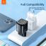 McDodo CH‑8291 USB‑C Väggladdare, snabbladdning, EU, 20W, svart