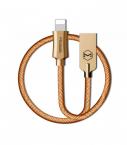 McDodo CA-3920 Knight Lightning-kabel, 2.4A, 1.2m, guld